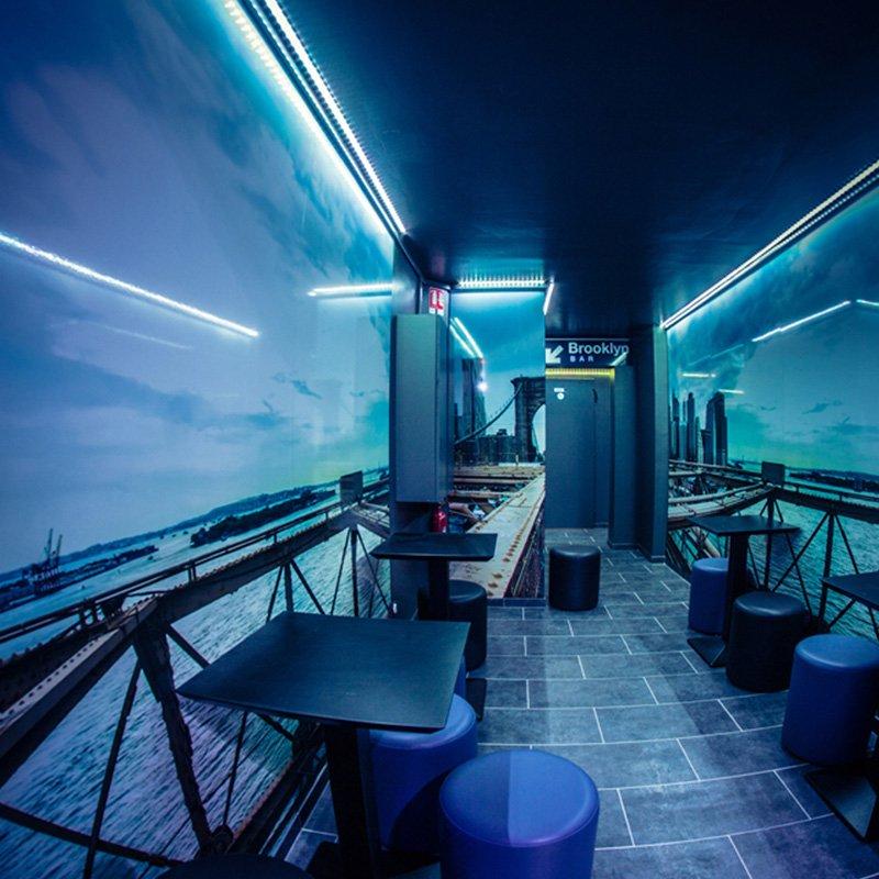 Brooklyn Bar - Couloir