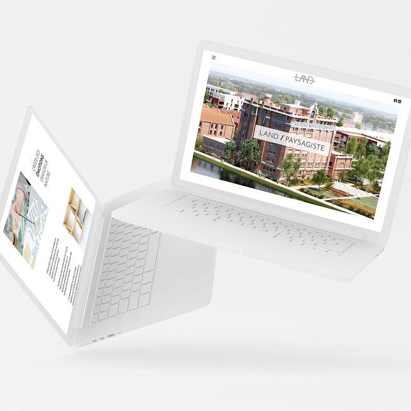 Agence Land - Site web