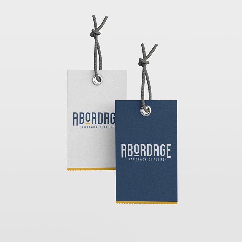 Abordage - etiquettes