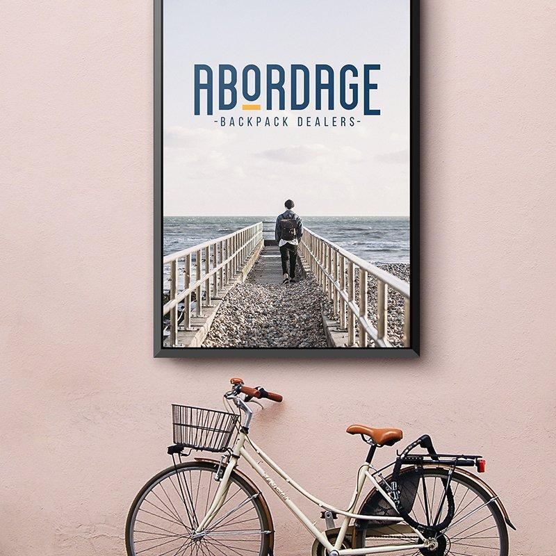 Abordage logo