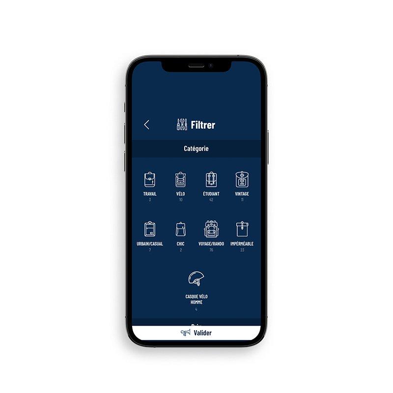 Abordage site web iphone