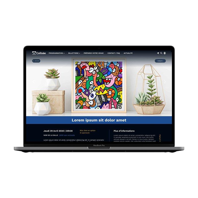 Colisée Roubaix site web