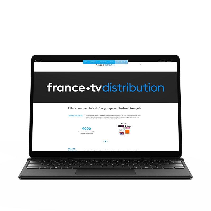 France tv distribution site web