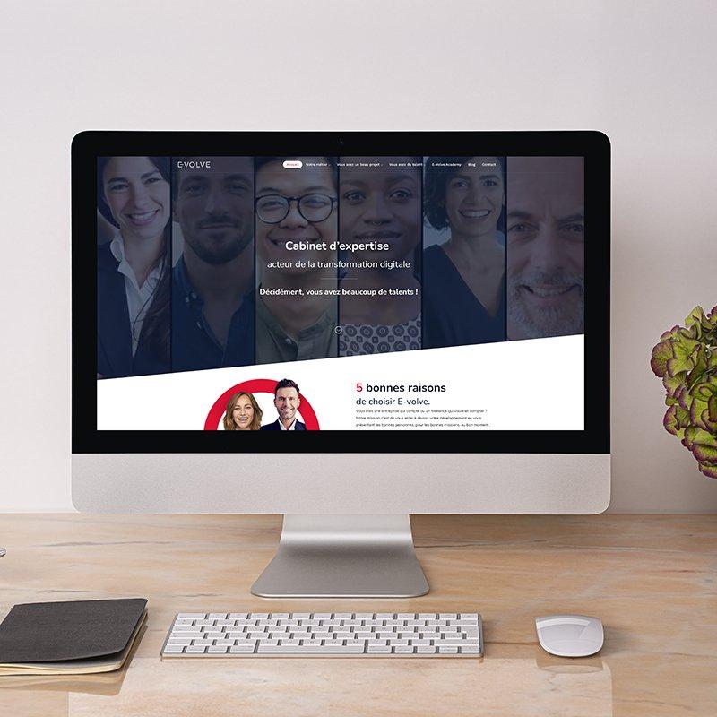E-volve site web